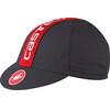 Castelli Retro 3 - Accesorios para la cabeza - gris/rojo